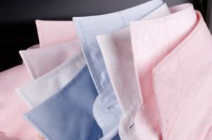 Licht gekleurde overhemden